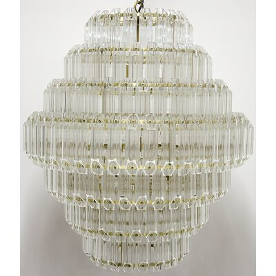 Palazzo 8-Light Crystal Chandelier Size: 29 H x 25 W x 25 D