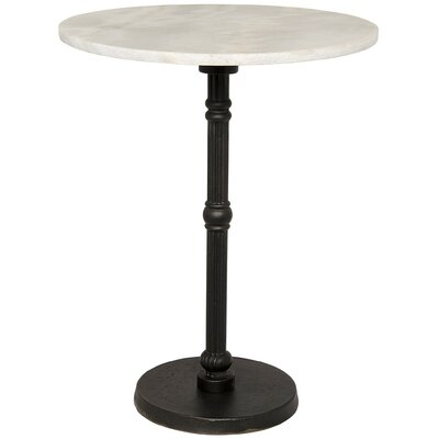 Antonie End Table Color: Black