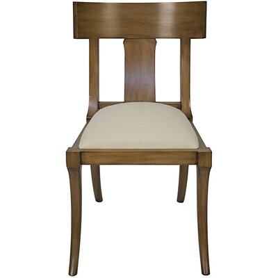 Athena Solid Wood Dining Chair Finish: Saddle Brown