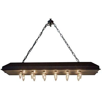 12-Light LED Kitchen Island Pendant