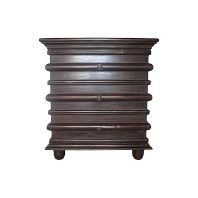 Ascona End Table Color: Hand Rubbed Brown