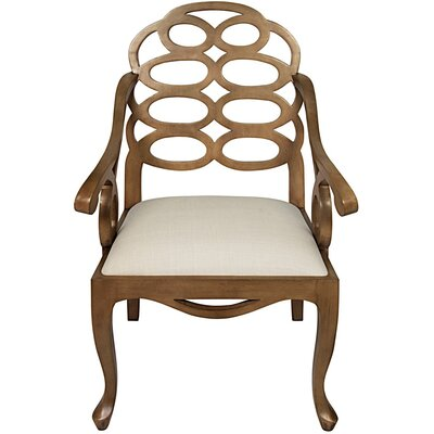 Cesara Solid Wood Dining Chair Finish: Saddle Brown