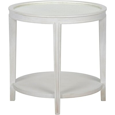 Imperial Tray Table Color: White Wash