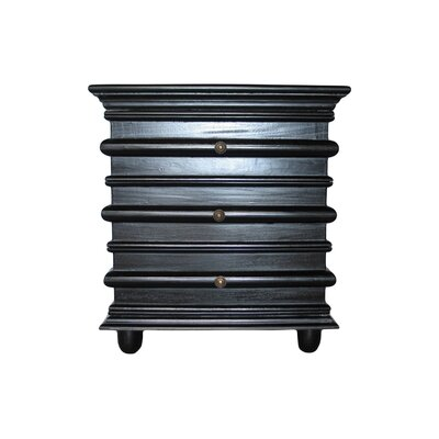 Ascona End Table Color: Hand Rubbed Black