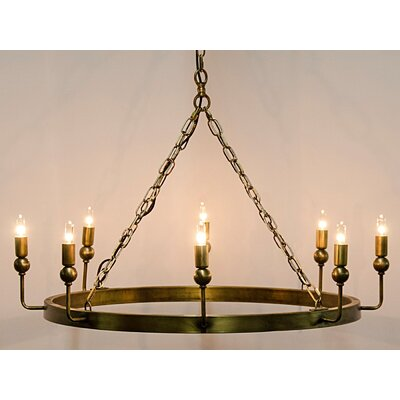 Blinder 8-Light Candle-Style Chandelier