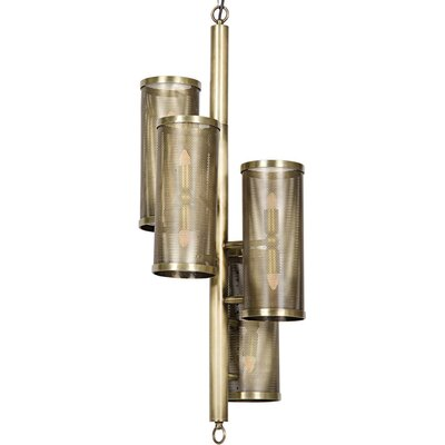 Pisa Metal 8-Light Mini Pendant