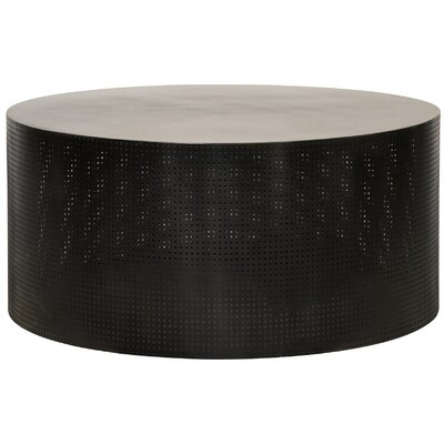 Dixon Coffee Table Color: Dark Metal