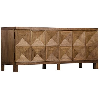 3 Door Quadrant Sideboard