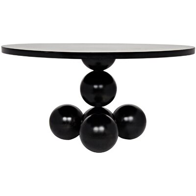 Kugel Metal Dining Table