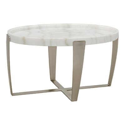 Ennio Stone/Metal Coffee Table
