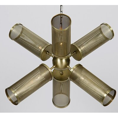Mortimer Metal 6-Light Sputnik Chandelier