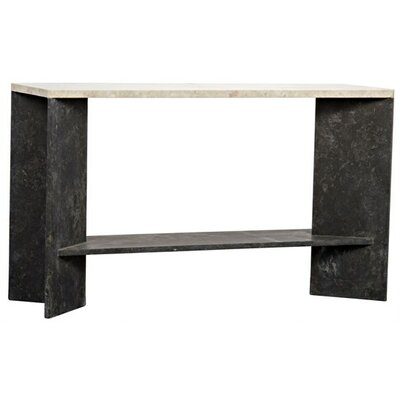 Anvil Marble Console Table