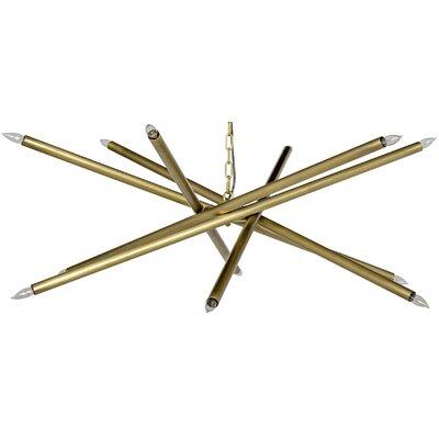 Ikram 10-Light Sputnik Chandelier