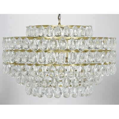 Linden 4-Light Crystal Chandelier