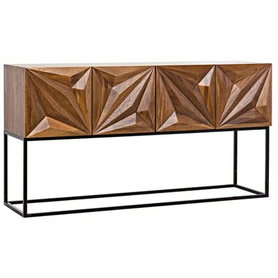 Zurich Metal Console Table