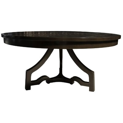 3 Leg Round Dining Table Finish: Distressed  Brown