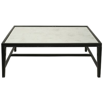 Imperial Coffee Table Finish: Hand Rubbed Black