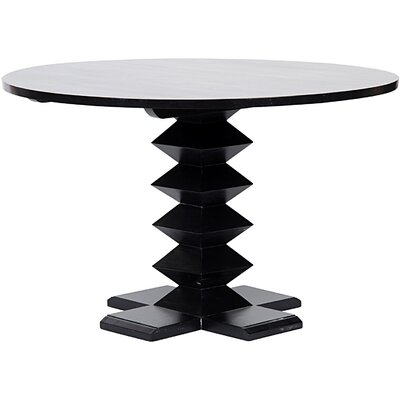 Zig-Zag Base Dining Table