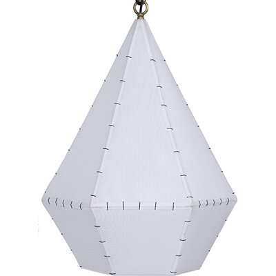Quill 1-Light Foyer Pendant