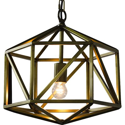 Diamond 1-Light Foyer Pendant