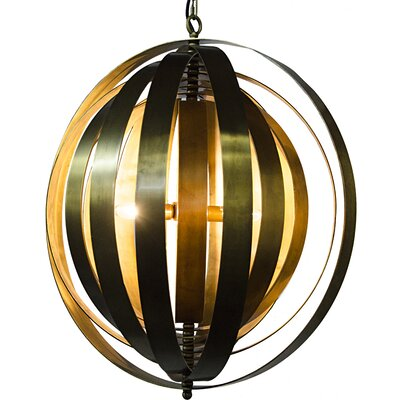 4-Light Globe Pendant
