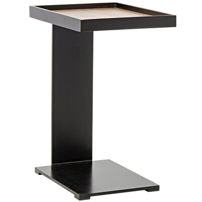 Ledge Metal End Table