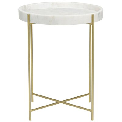 Chico Tray Table Finish: Antique Brass