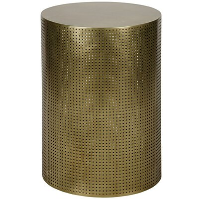 Dixon End Table Color: Brass