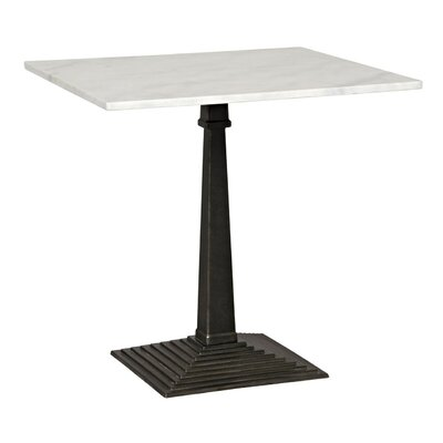 Fadim Metal End Table Finish: Dark Metal