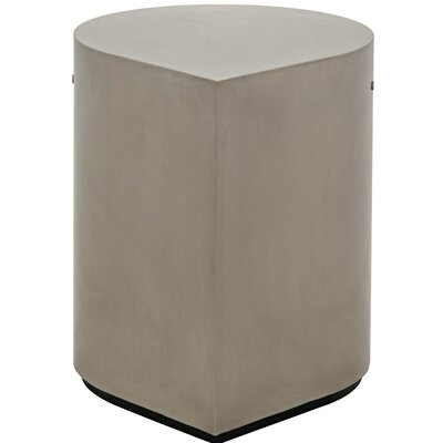 Drop Metal End Table Finish: Silver