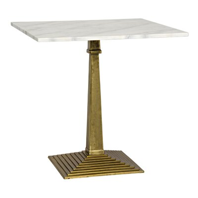 Fadim End Table Color: Antique Brass
