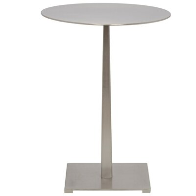 Stiletto Metal End Table Finish: Antique Silver