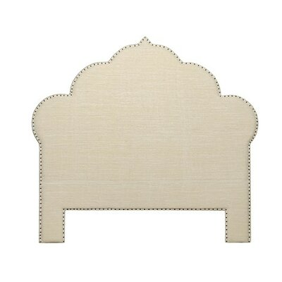 Bijou Upholstered Panel Headboard Size: Queen