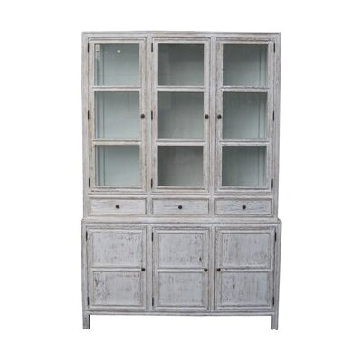 Colonial China Cabinet Color: White