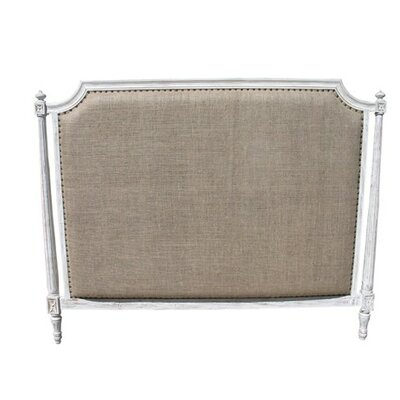 Isabelle Upholstered Panel Headboard Size: King