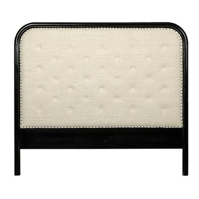 Morpheus Upholstered Panel Headboard Size: King