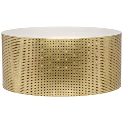 Dixon Metal Coffee Table Finish: Brass