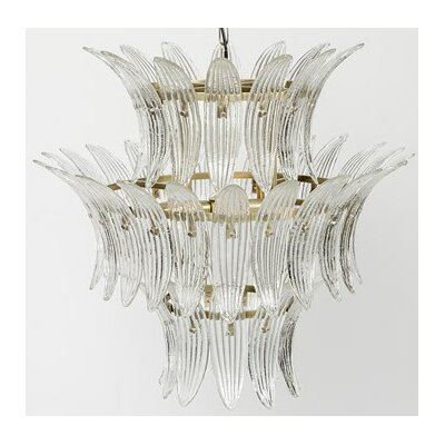 King 4-Light Crystal Chandelier
