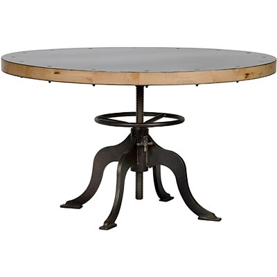 Sandwich Top Metal Dining Table