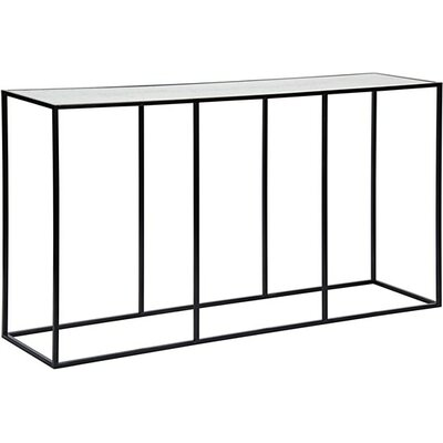 Convention Metal/Glass Console Table