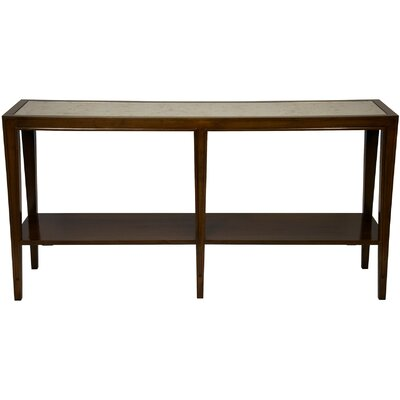 Hutton Console Table Finish: Distressed Brown