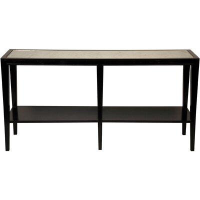 Hutton Console Table Finish: Distressed Black
