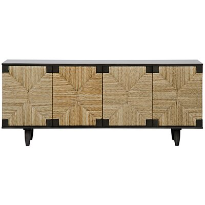 Brook 4 Door Sideboard Color: Pale