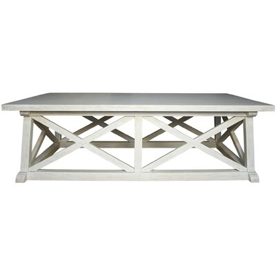 Sutton Coffee Table Color: White