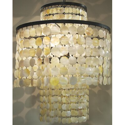 Jude 3-Light Crystal Chandelier