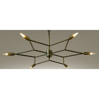 Star 6-Light Sputnik Chandelier
