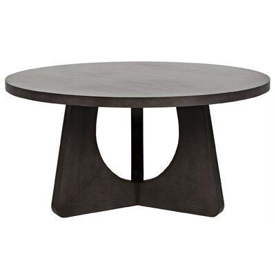 Nobuko Dining Table Size: 30 H x 60 W x 60 L