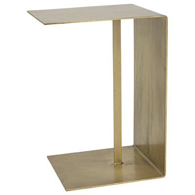 Cham C Table Color: Antique Brass