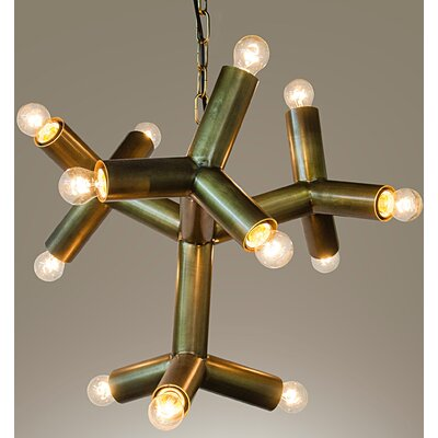 Snow 12-Light Sputnik Chandelier