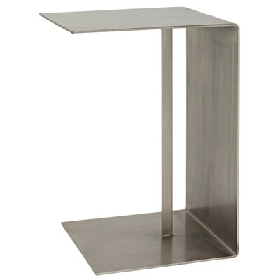 Cham C Table Color: Antique Silver